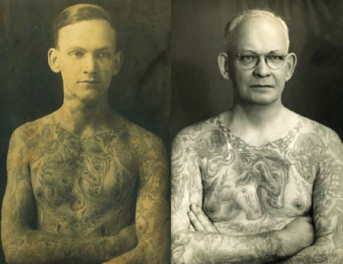 old young tattoos